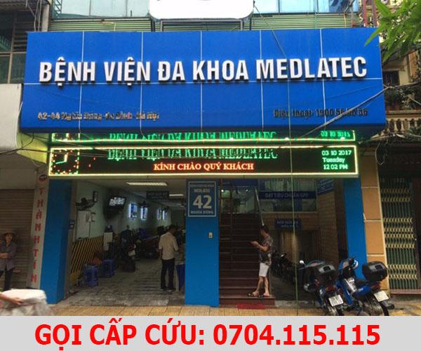 gọi xe cấp cứu bệnh viện đa khoa MEDLATEC 1