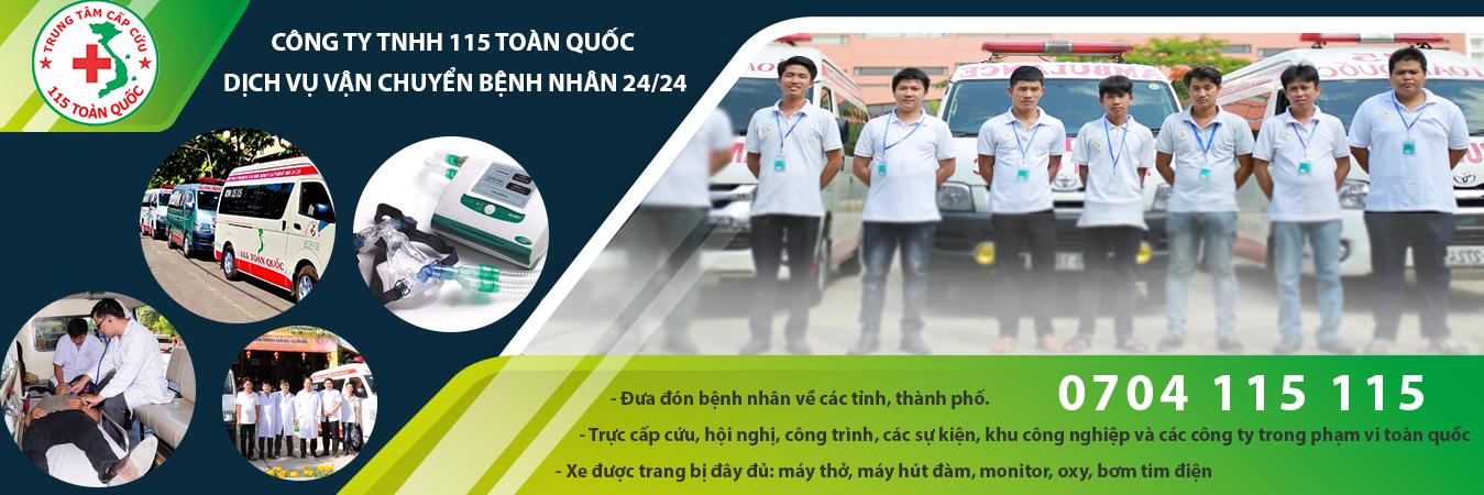 Dịch Vụ Xe Cấp Cứu 115 TOÀN QUỐC | Gọi Khẩn Cấp 0704115115